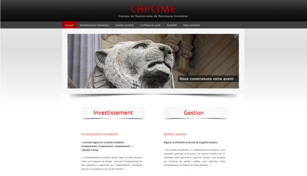 Capcime Investissement immobilier