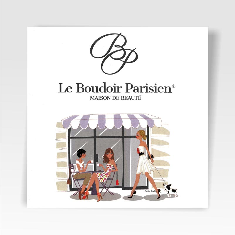 Carte d'Invitation LE BOUDOIR PARISIEN