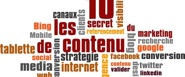 Secret marketing de contenu
