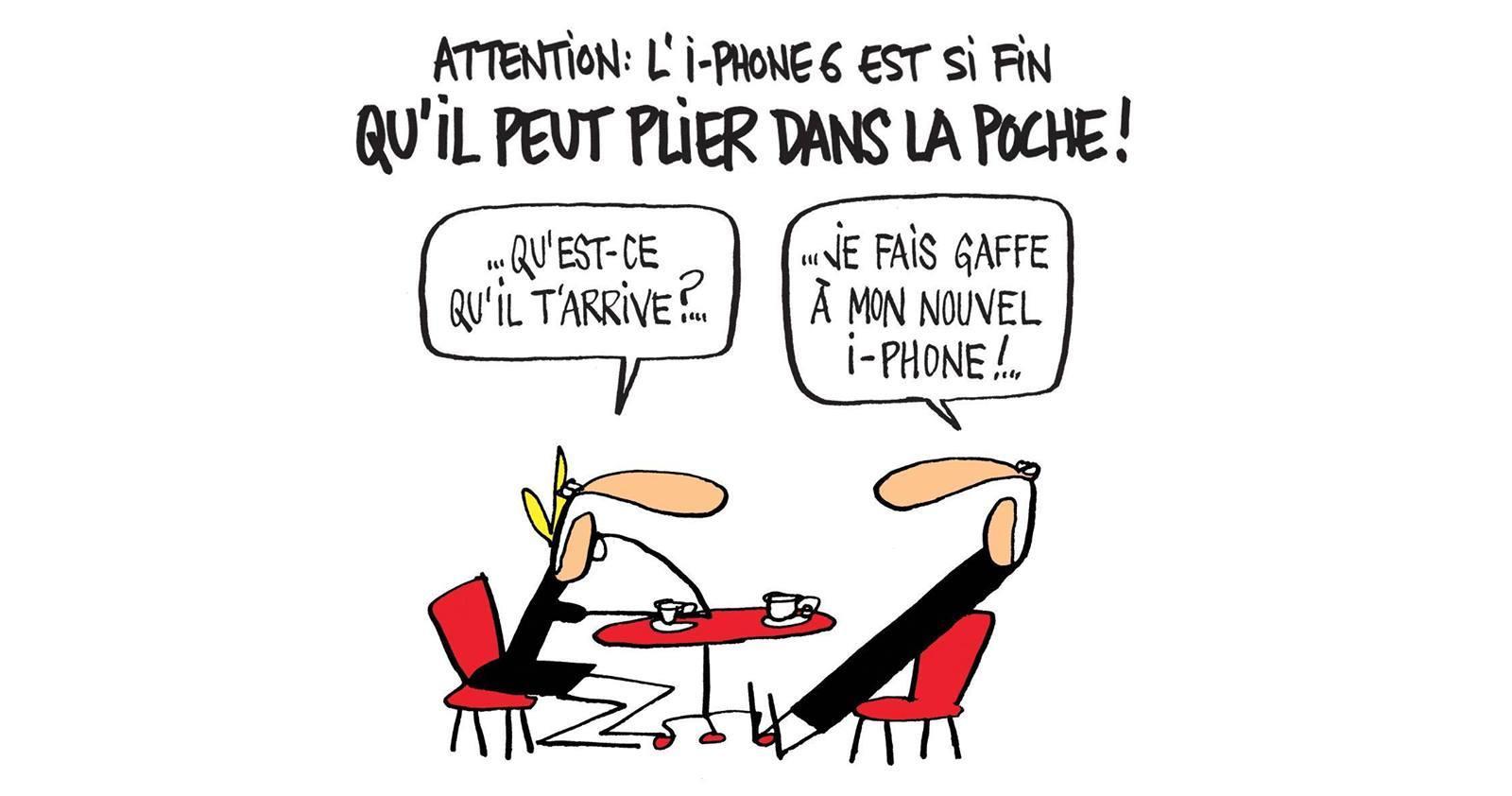 iPhone 6 humour
