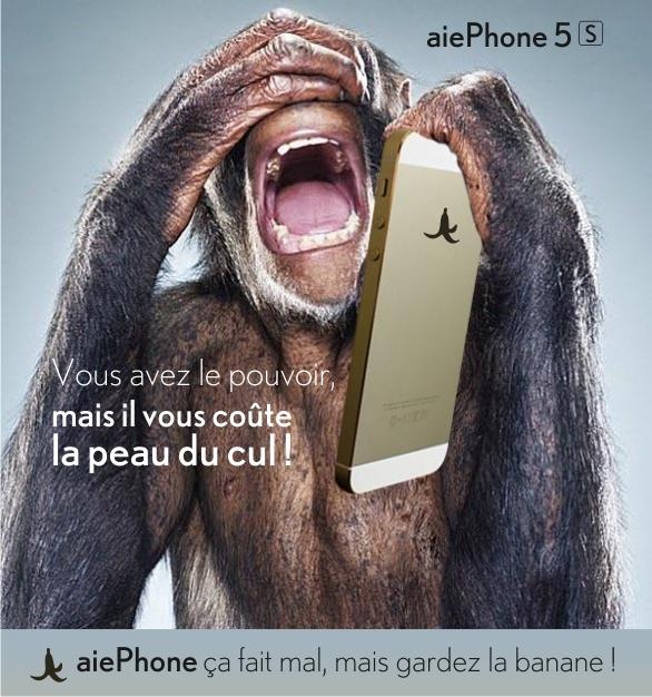 parodie iphone 5s