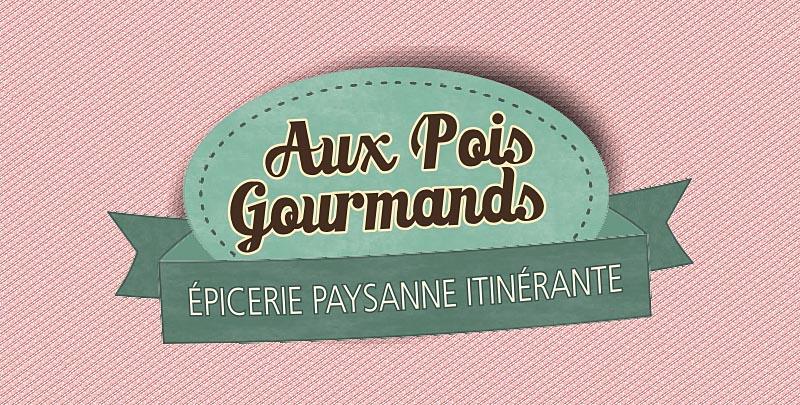 Création de logo Aux pois gourmands
