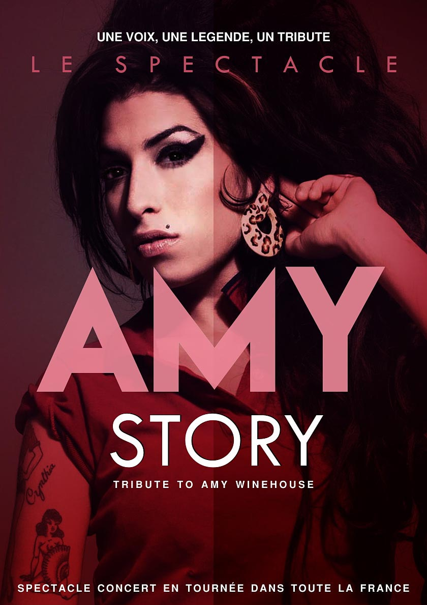 Affiche Amy Winehouse Tribute