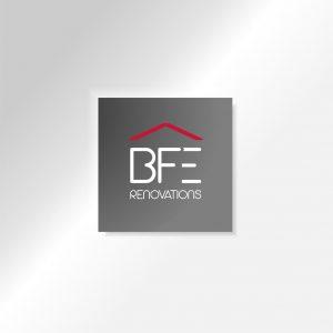 creation de logo BFE Rénovations