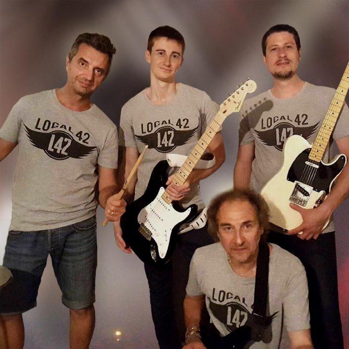 Impression t-shirt groupe de musique