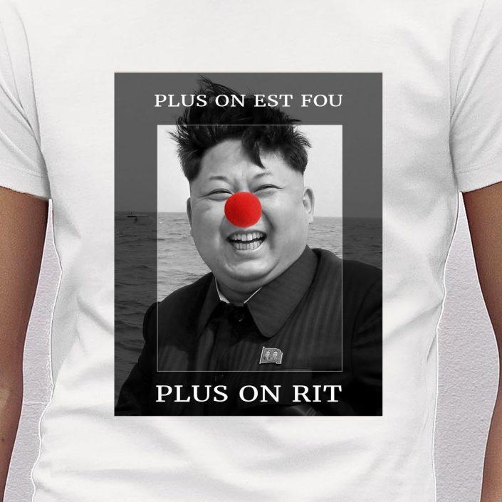 T-shirt Kim Jung-Un