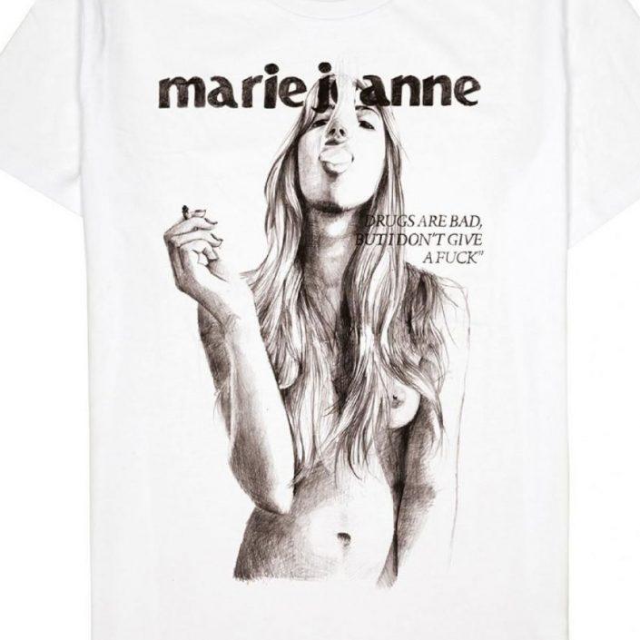 t-shirt provoke Marie Jeanne