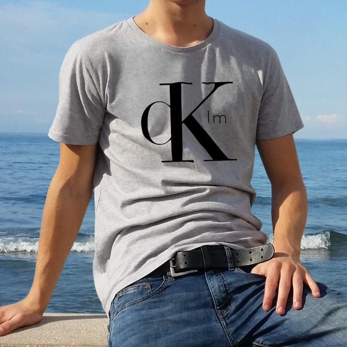 T-shirt parodie Calvin Klein