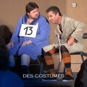 Spectacle humoriste - les costumes